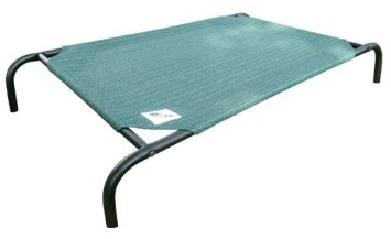 Coolaroo Elevated Pet Bed Knitted Fabric