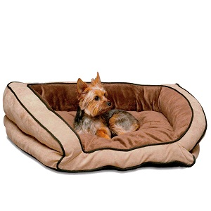 K H Bolster Couch Pet Bed with washable cover.